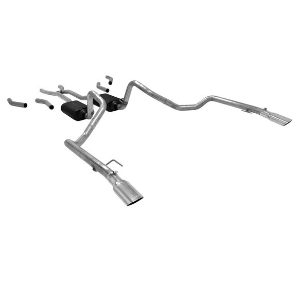 17655 - Flowmaster American Thunder Crossmember-back Exhaust System - additional Image