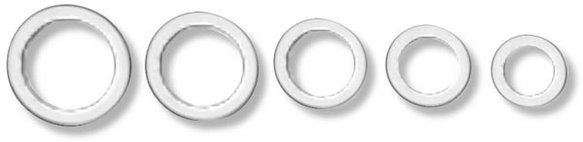 177005ERL - Earls AN 901 Aluminum Crush Washer Image