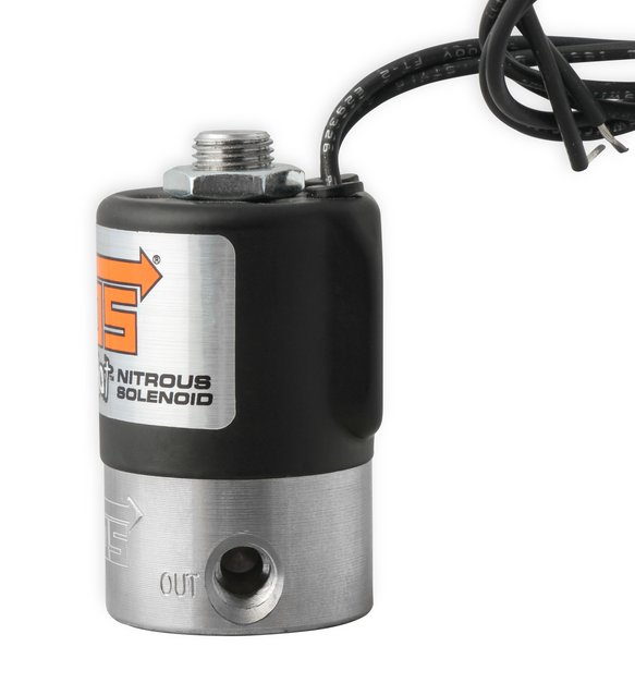 18045BNOS - NOS Nitrous Solenoid - Black - additional Image