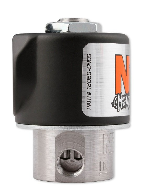 18050BNOS - NOS Fuel Solenoid - Black - additional Image