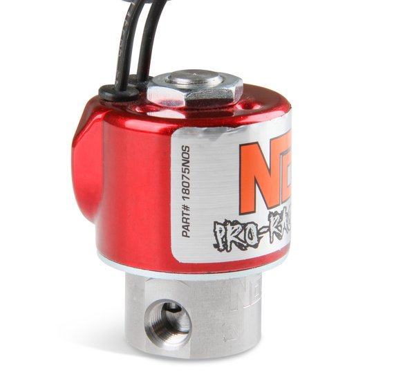 18075NOS - NOS Fuel Solenoid - Red - additional Image