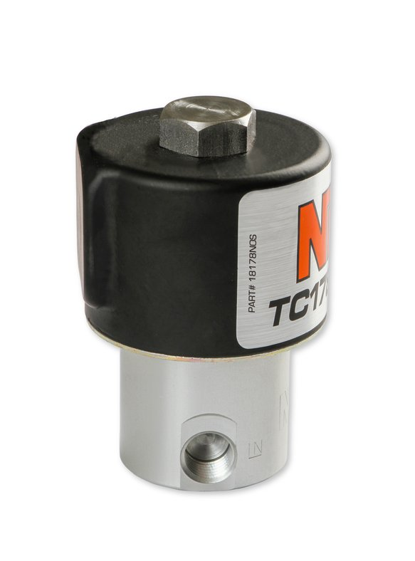 18178BNOS - NOS Nitrous Solenoid - Black - additional Image