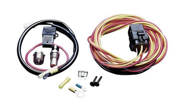 185FH - SPAL Electric Fan Wiring Harness Kit Image