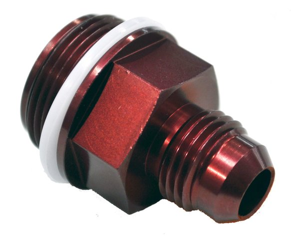 19-16QFT - 7/8-20 #6 A/N Fuel Inlet Fitting Red Image