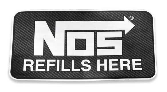 19212NOS - NOS Refills Here Decal Image