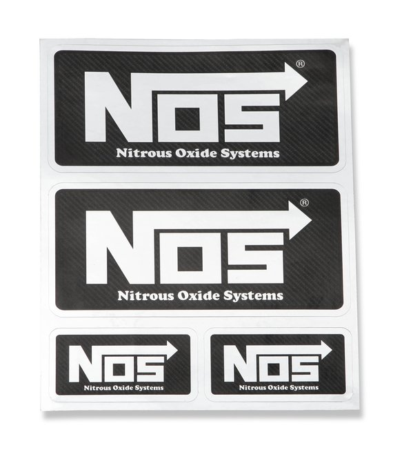 19231NOS - NOS Carbon Fiber Decal Sheet Image