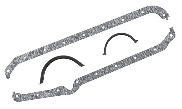 198 - Oil Pan Gasket - Performance - 262-400 Chevrolet Small Block Gen I 1975-79 Image
