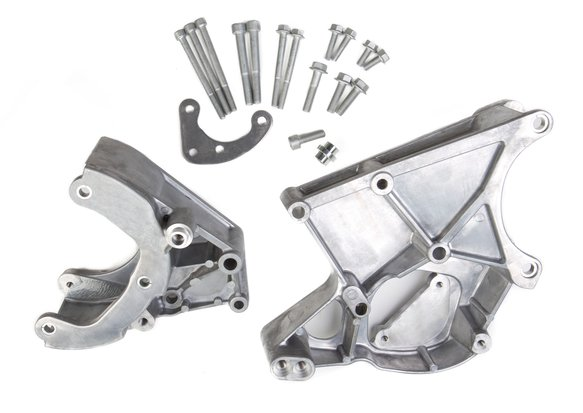 20-131 - LS Accessory Drive Bracket - A/C, P/S & Alt Brackets - works with R4 compressor Image