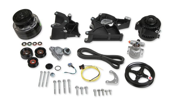 20-136BK - LS/LT Complete Accessory Drive Kit- Black Finish - additional Image