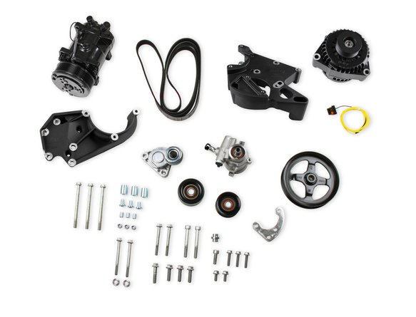 20-137BK - LS/LT Complete Accessory Drive Kit- Black Finish Image
