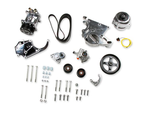 20-137P - LS/LT Complete Accessory Drive Kit- Polished Finish Image