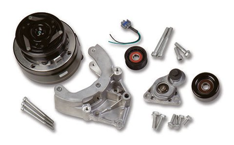 20-140 - LS A/C Accessory Drive Kit - Includes R4 A/C Compressor, Tensioner, & Pulleys Image