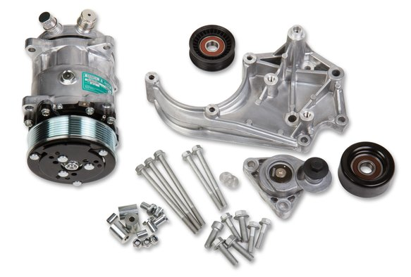 20-141 - LS A/C Accessory Drive Kit - Includes SD508 A/C Compressor, Tensioner, & Pulleys Image
