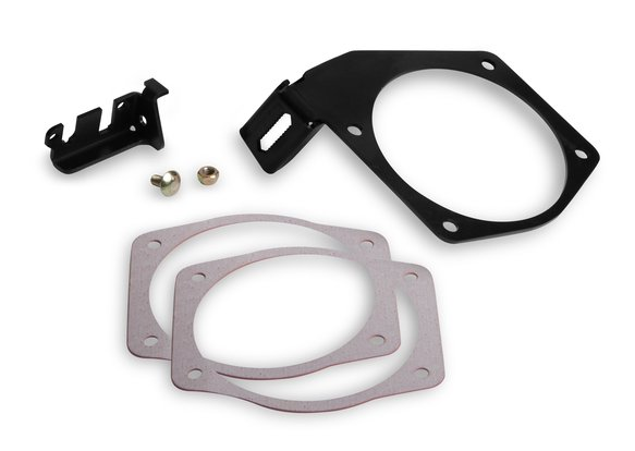 20-147 - Cable Bracket for 90 & 95mm Throttle Bodies on Factory or FAST Brand car style intakes Image