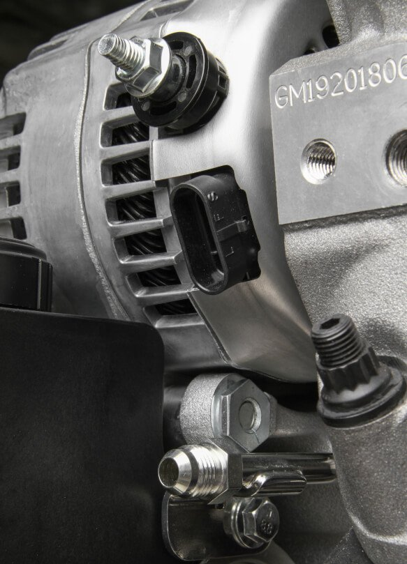 20-200 - Holley Premium Mid-Mount Complete Accessory System for LT Engines - additional Image