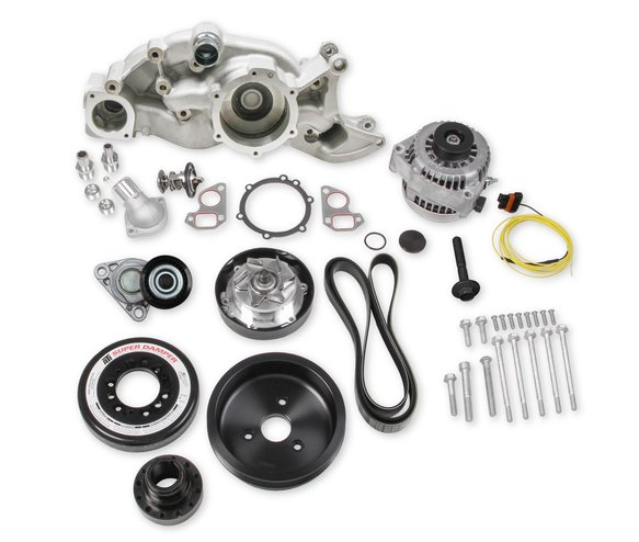 20-192 - Holley Premium Mid-Mount LS7 Race Accessory System Image