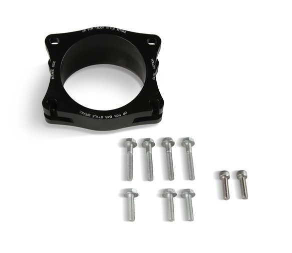20-201BK - Holley Premium Mid-Mount Race Accessory System-Black Finish - additional Image