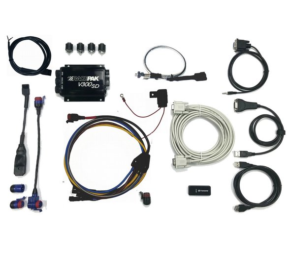 200-KT-V300SDSM - V300SD Motorcycle Kit With Datalink Standard Image