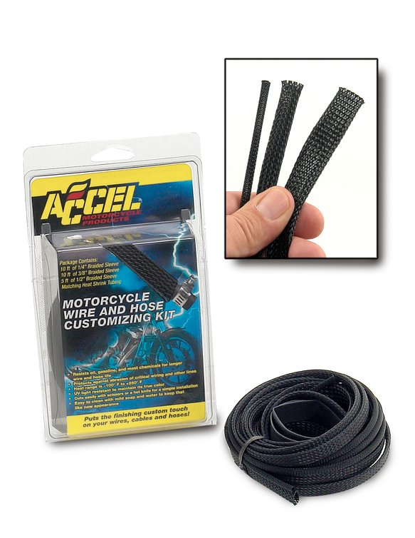 2007BK - SLEEVING KIT-BLACK Image
