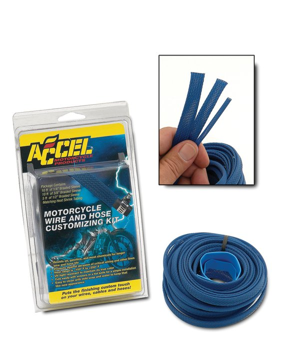2007BL - SLEEVING KIT-BLUE Image
