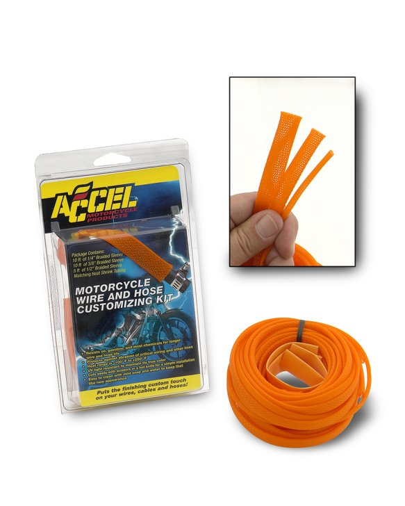 2007HO - SLEEVING KIT-ORANGE Image