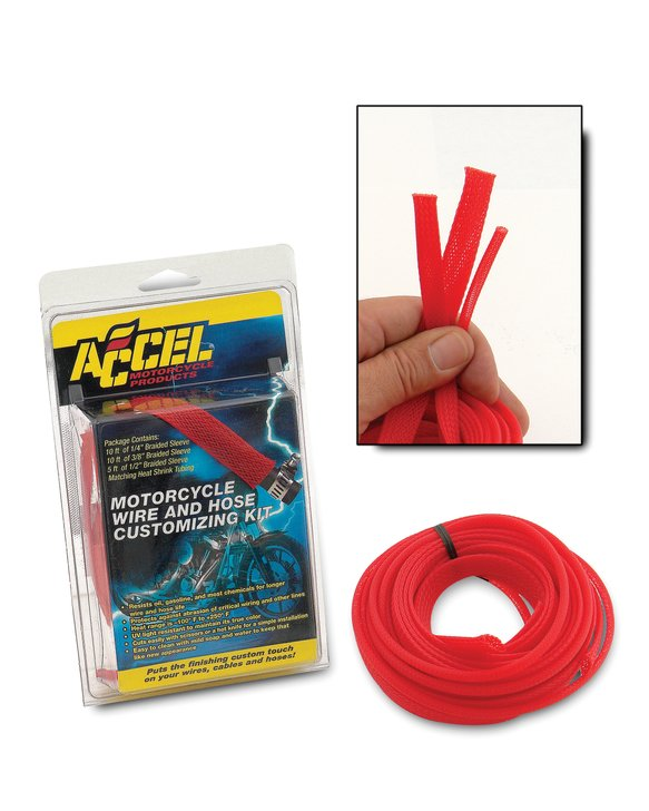 2007RD - SLEEVING KIT-RED Image