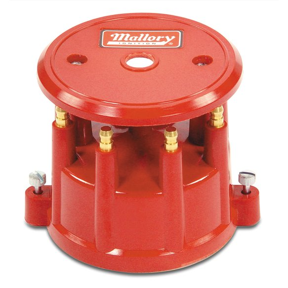 208M - Mallory Cap, 8 Cylinder Distributor, Screw Down Image