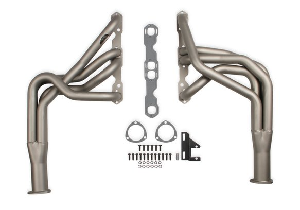 2131-4HKR - Hooker Super Competition Long Tube Headers - Titanium Ceramic Coated Image