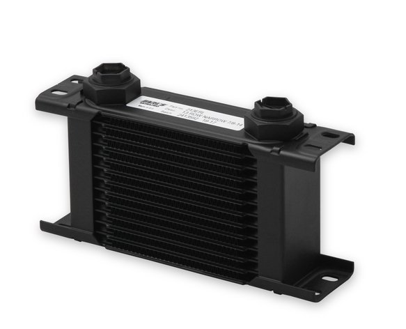 213ERL - Earls UltraPro Oil Cooler - Black - 13 Rows - Narrow Cooler - 10 O-Ring Boss Female Ports Image
