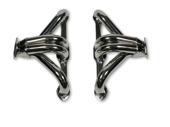 2200HKR - Hooker Block Hugger Header - Polished Stainless Steel Image