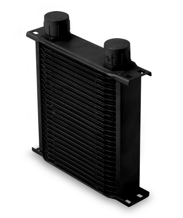 22516AERL - Earls 25 Row Oil Cooler -16 AN Black Image