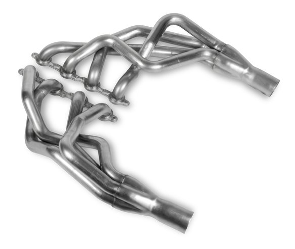 70101307-RHKR - Hooker BlackHeart LS Swap Long Tube Header - Stainless Image