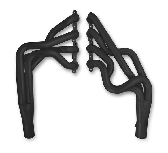 2298-3HKR - Hooker BlackHeart Long Tube Header - Black Ceramic Coated Image