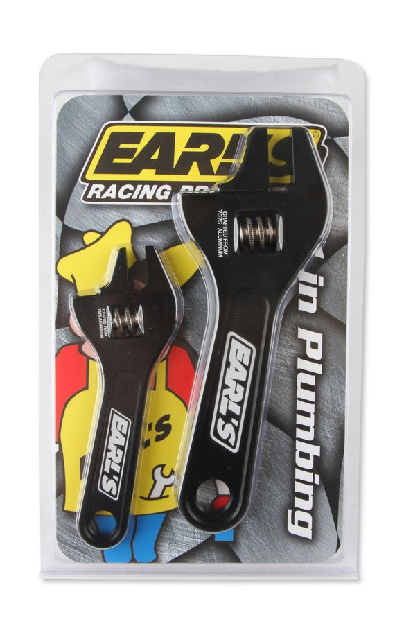 230351ERL - Earls 2-Piece Aluminum Adjustable AN Wrench Set - additional Image