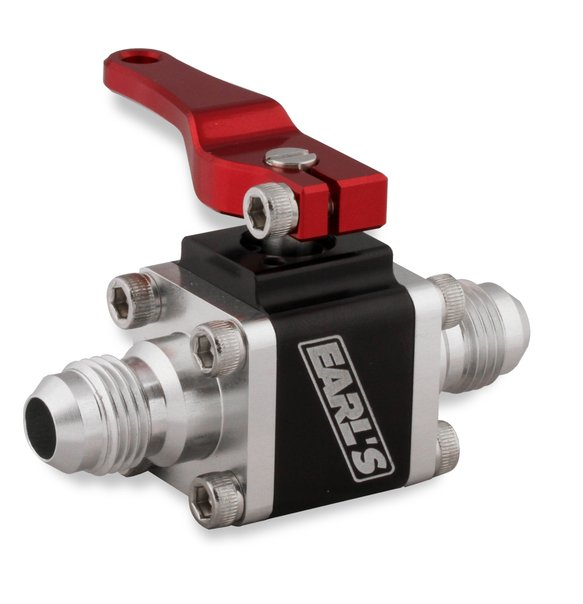 230506ERL - Earls UltraPro Ball Valve -6 AN Male to Male Image