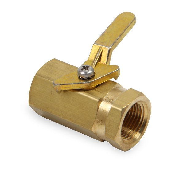 230507ERL - Earls Brass Shut-Off Valve Image