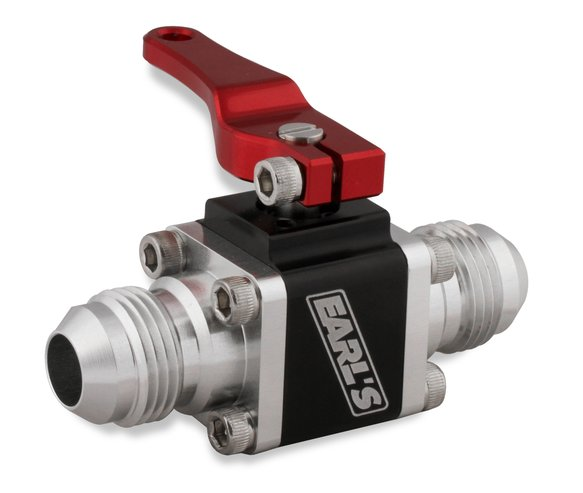 230508ERL - Earls UltraPro Ball Valve -8 AN Male to Male Image