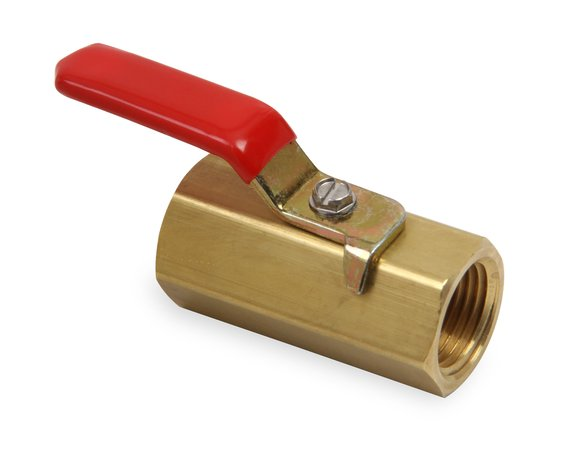 230509ERL - Earls Brass Shut-Off Valve Image