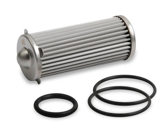 230619ERL - Earls 260 GPH HP Billet Fuel Filter Element & O-Ring Kit - 40 micron Image