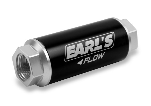 230620ERL - Earls 260 GPH HP Billet Fuel filter - 40 micron (-12AN) Image