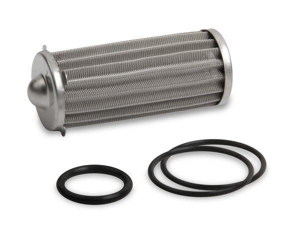 230621ERL - Earls 260 GPH HP Billet Fuel Filter Element & O-Ring Kit - 100 micron Image