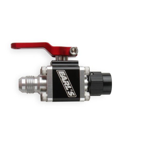 230706ERL - Earls UltraPro Ball Valve -6 AN Male to Female Image