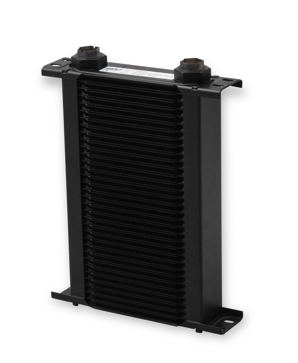 234ERL - Earls UltraPro Oil Cooler - Black - 34 Rows - Narrow Cooler - 10 O-Ring Boss Female Ports Image