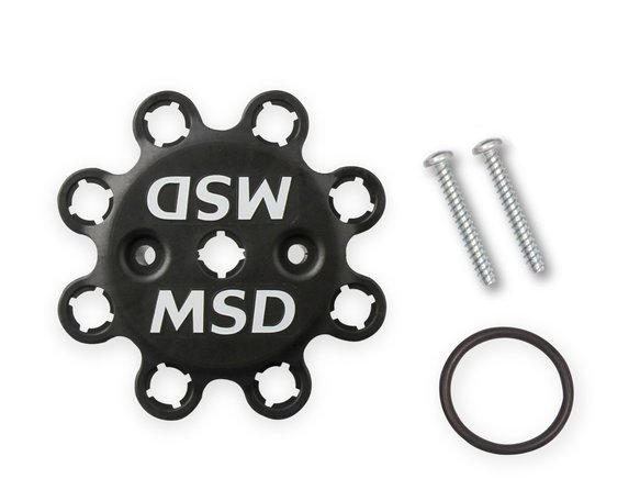 23853 - MSD Black, Oldsmobile V8 Dual Sync Distributor - additional Image