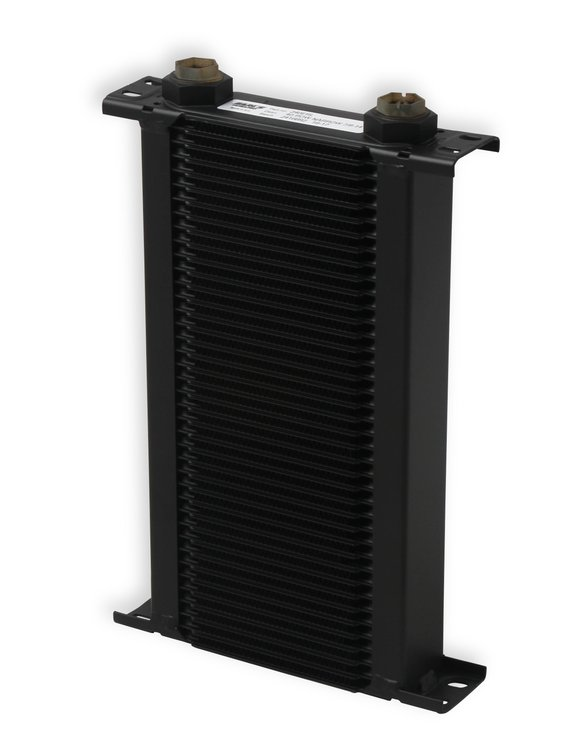 240ERL - Earls UltraPro Oil Cooler - Black - 40 Rows - Narrow Cooler - 10 O-Ring Boss Female Ports Image