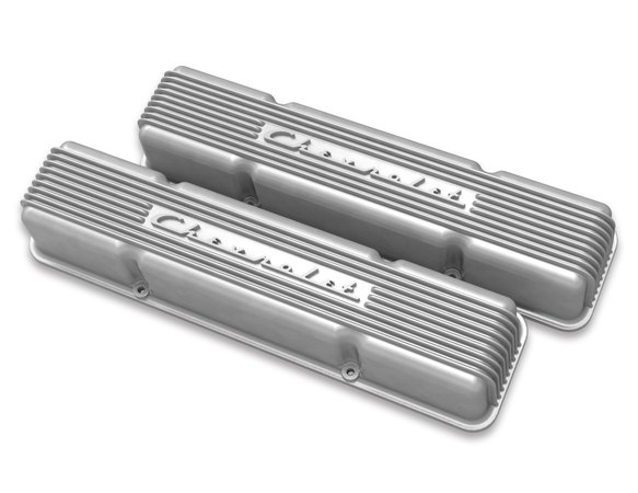 241-106 - Holley GM Licensed Vintage Series SBC Valve Covers Image