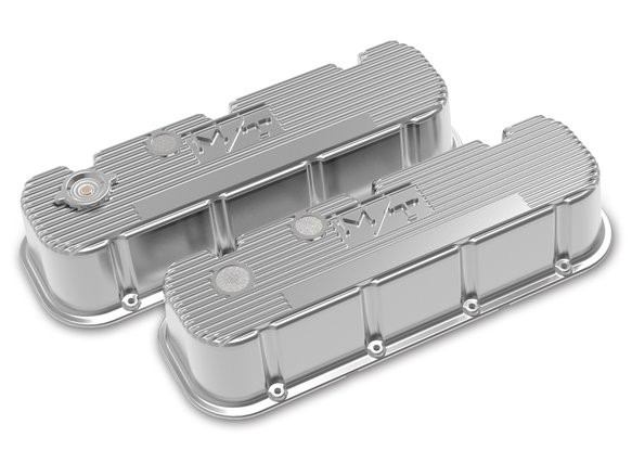 241-151 - Tall M/T Valve Covers for Big Block Chevy Engines – Polished Finish Image