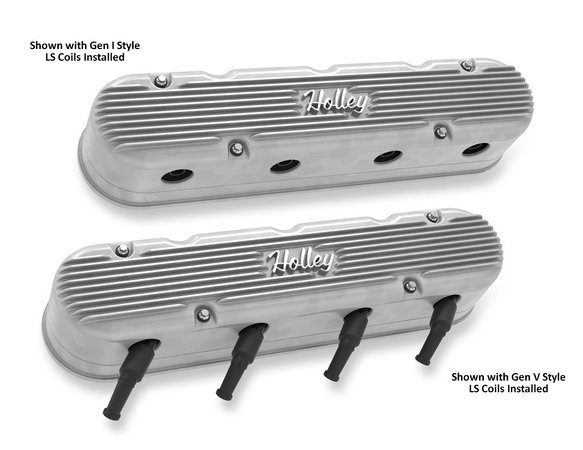 241-170 - 2-PC LS Vintage Series Valve Covers – Natural Finish - additional Image