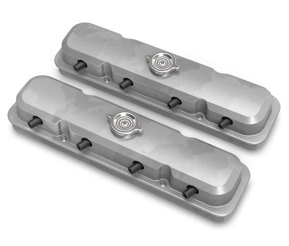 241-190 - 2-Pc LS Pontiac Style Valve Covers - Natural Finish Image