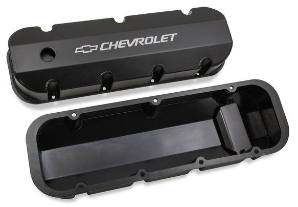 241-281 - Holley GM Licensed Track Series Valve Covers - additional Image